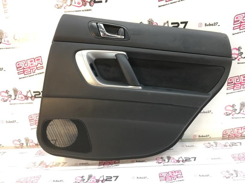 Обшивка двери Subaru Legacy BP5 EJ20X 2008 задняя правая (б/у)
