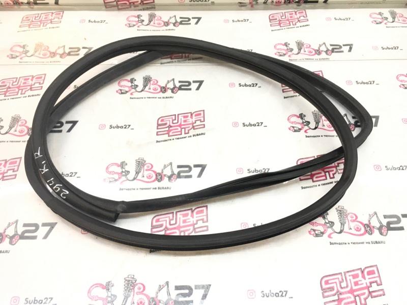 Уплотнительная резинка Subaru Legacy BP5 EJ20X 2008 задняя правая (б/у)