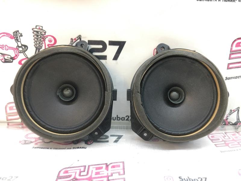 Мультимедиа акустика Subaru Legacy BP5 EJ20X 2008 передняя (б/у)