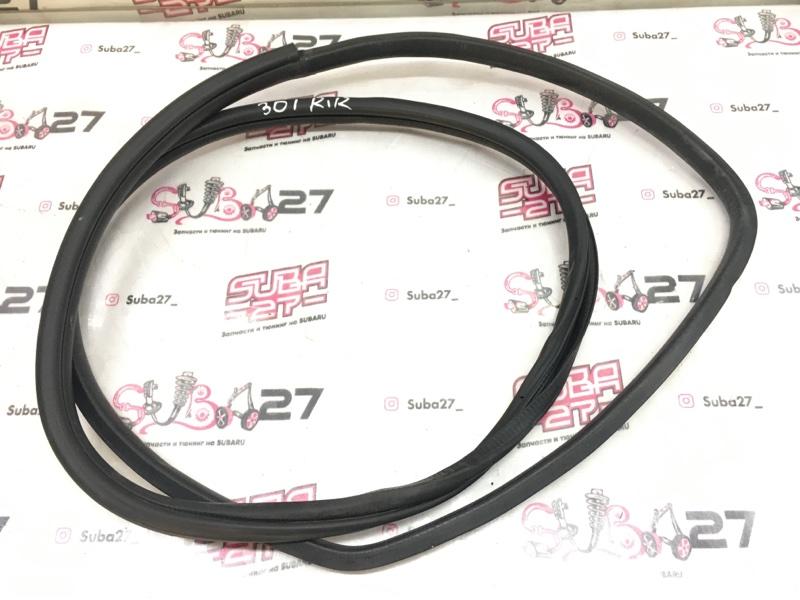 Уплотнительная резинка Subaru Legacy BL5 EJ20Y 2008 задняя правая (б/у)