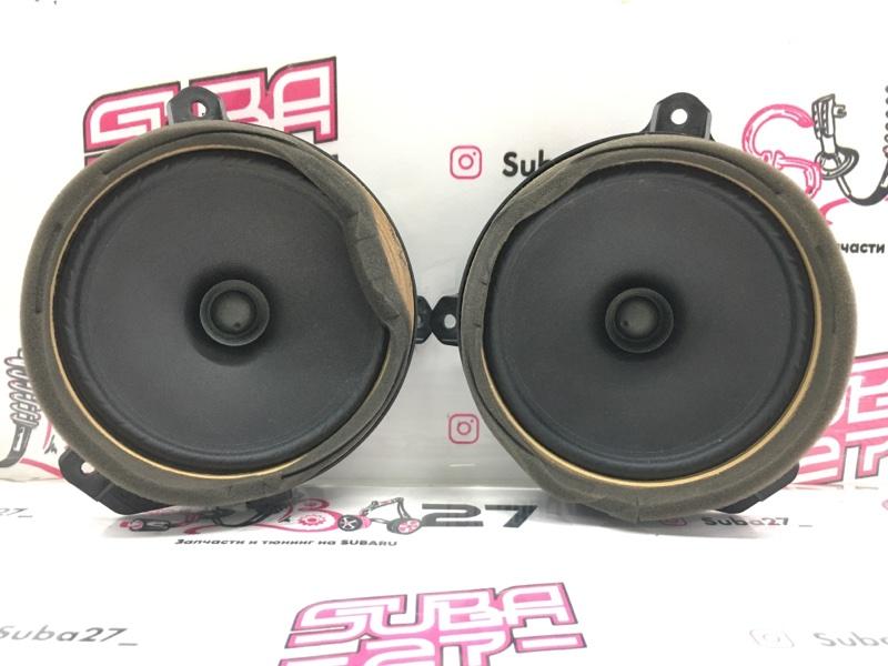 Мультимедиа акустика Subaru Legacy BL5 EJ20Y 2008 передняя (б/у)