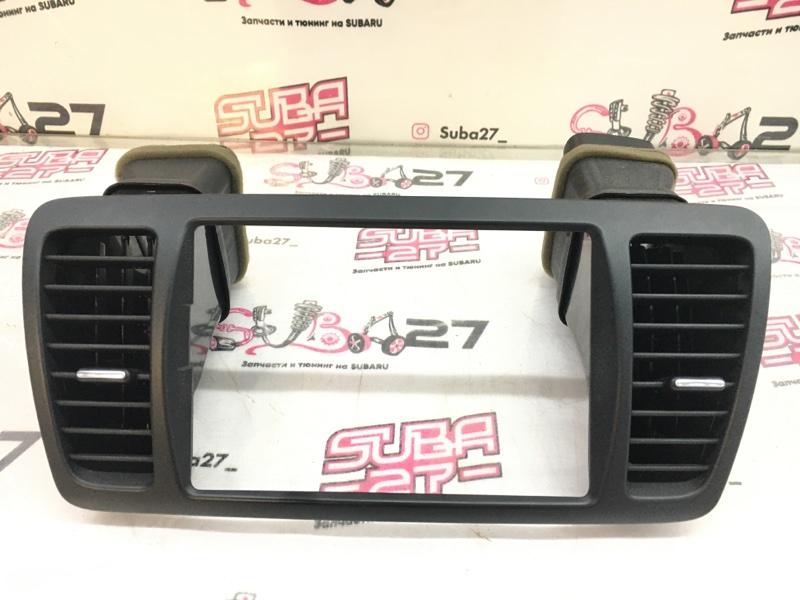 Рамка магнитолы Subaru Legacy BL5 EJ20Y 2008 (б/у)