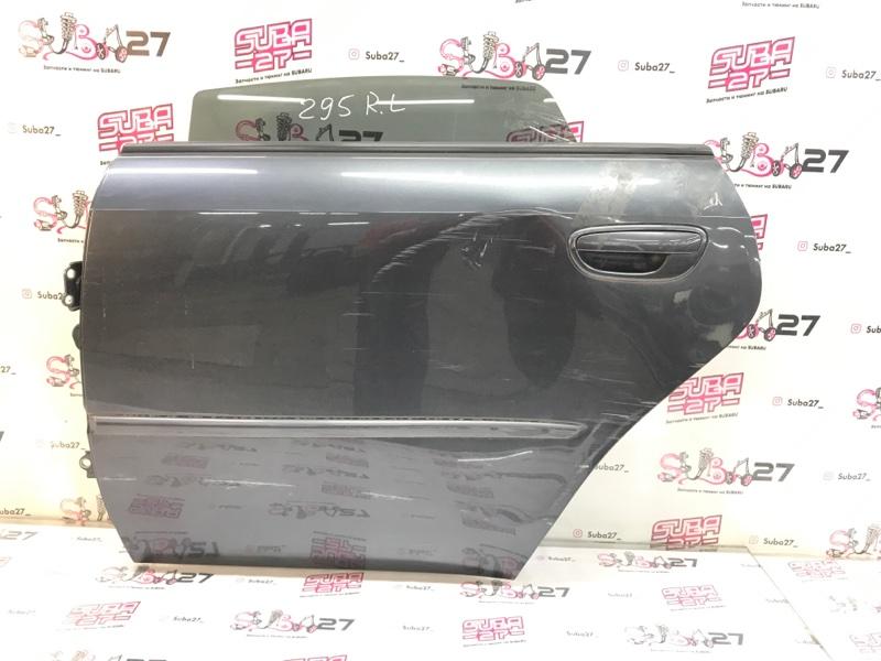 Дверь Subaru Legacy BL9 EJ253 2008 задняя левая (б/у)