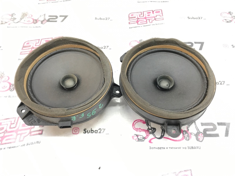 Мультимедиа акустика Subaru Legacy BL9 EJ253 2008 передняя (б/у)