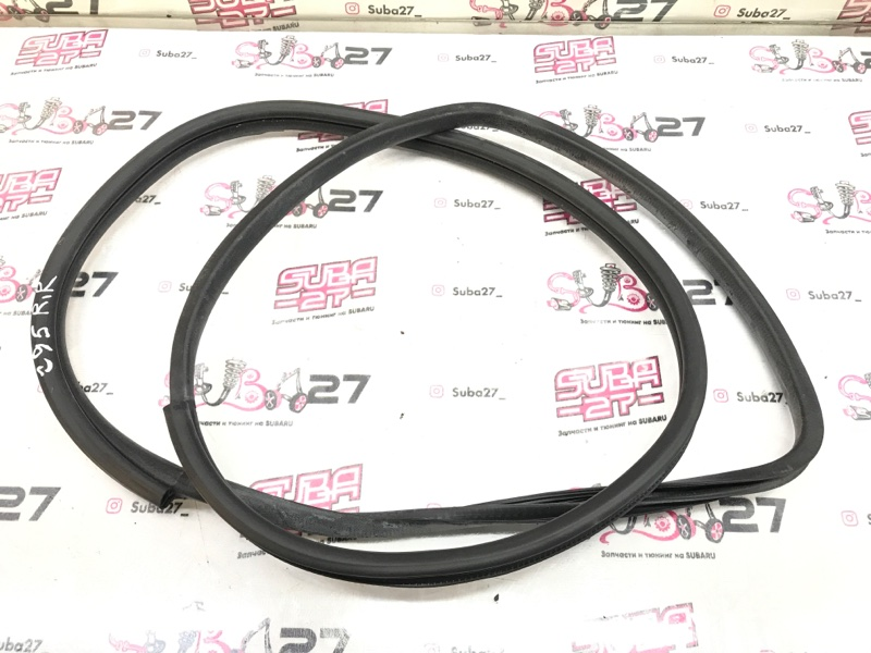 Уплотнительная резинка Subaru Legacy BL9 EJ253 2008 задняя правая (б/у)