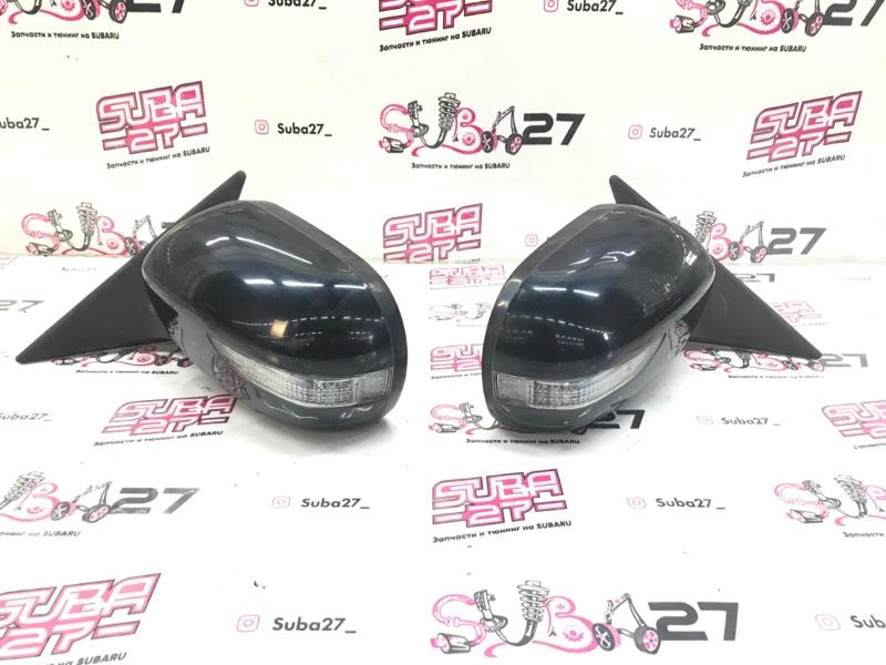 Зеркало заднего вида боковое Subaru Legacy BP9 EJ253 2008 (б/у)
