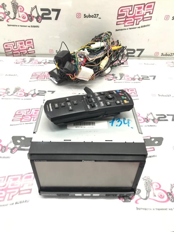 Мультимедиа магнитола Subaru Forester SH5 EJ205 2008 (б/у)