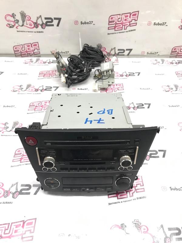 Мультимедиа магнитола Subaru Legacy BP5 2004 (б/у)