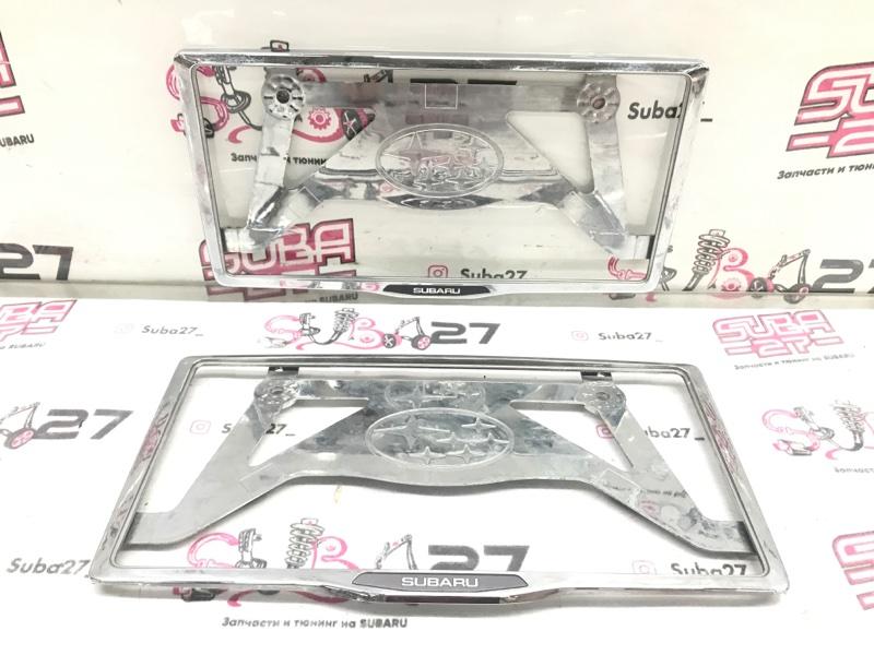 Рамка для номера Subaru Legacy BL5 EJ20X 2007 (б/у)