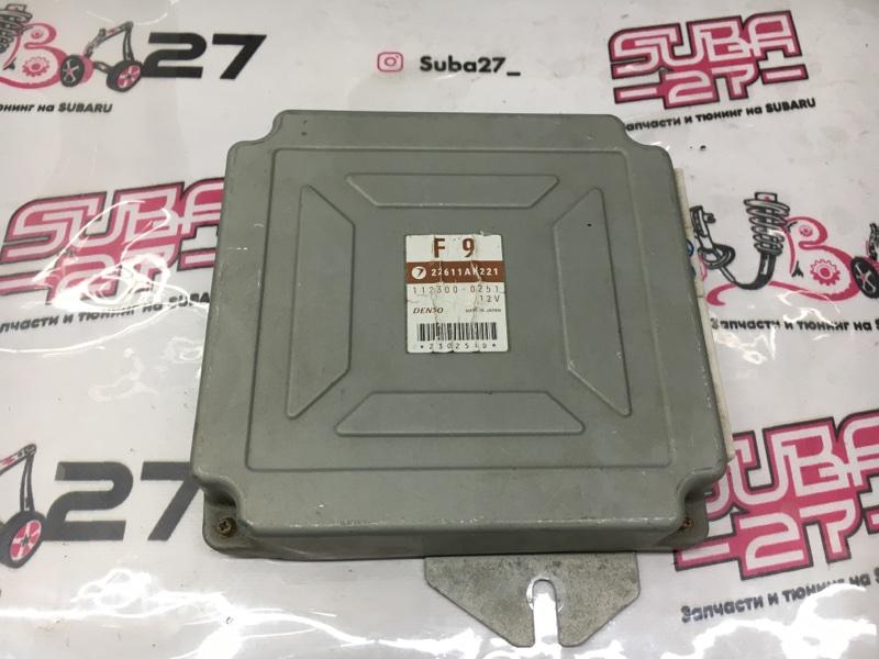 Блок управления двс Subaru Legacy BL5 2004 (б/у)