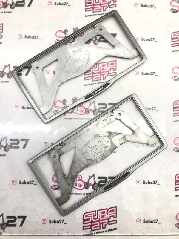 Рамка для номера Subaru Legacy BL5 EJ20Y 2003 (б/у)