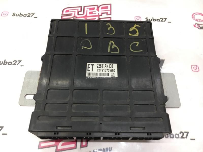 Блок управления двс Subaru Legacy BP5 EJ204 2007 (б/у)