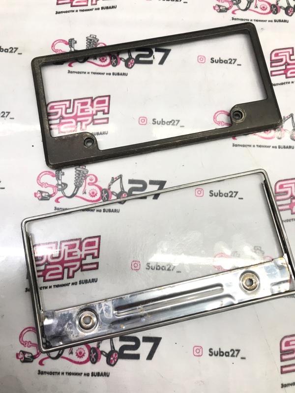 Рамка для номера Subaru Legacy BP5 EJ203 2007 (б/у)
