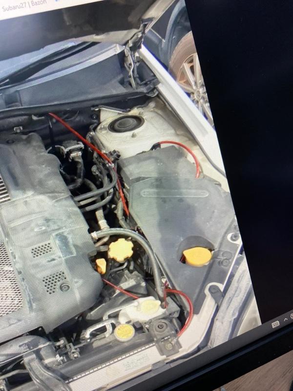 Крепление аккумулятора Subaru Legacy BP5 EJ20X 2004 (б/у)