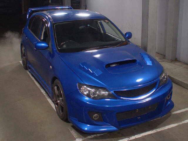 Автомобиль Subaru Impreza GH2 EL15 2008 года в разбор