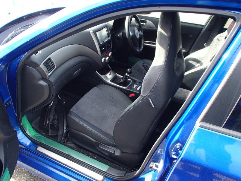 Автомобиль Subaru Impreza WRX STI GRB EJ207 2007 года в разбор