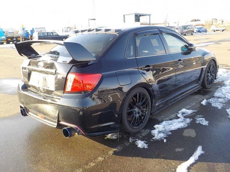 Автомобиль Subaru Impreza WRX STI GVB EJ207 2010 года в разбор