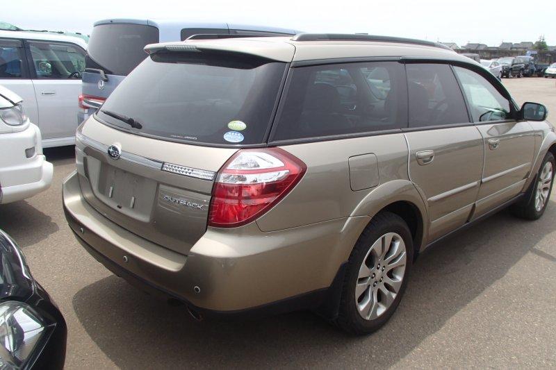 Автомобиль Subaru Outback BP9 EJ253 2007 года в разбор