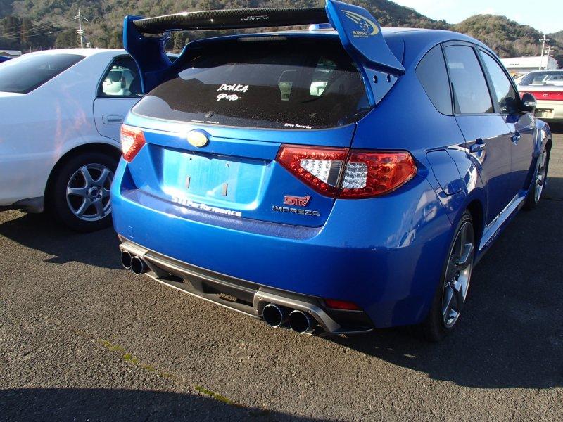 Автомобиль Subaru Impreza WRX STI GRF EJ257 2009 года в разбор