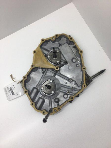 Крышка кпп Honda Airwave GJ1 L15A 2005 задняя (б/у)