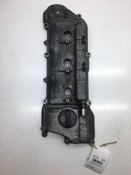 Крышка головки блока цилиндров Toyota Highlander MCU25L 1MZFE 2001 левая (б/у)