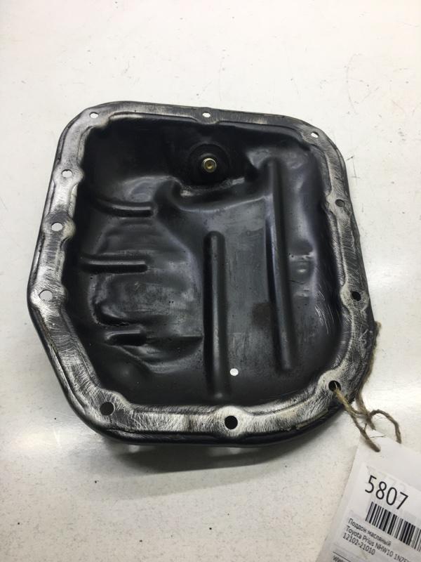 Поддон масляный Toyota Prius NHW10 1NZFXE (б/у)