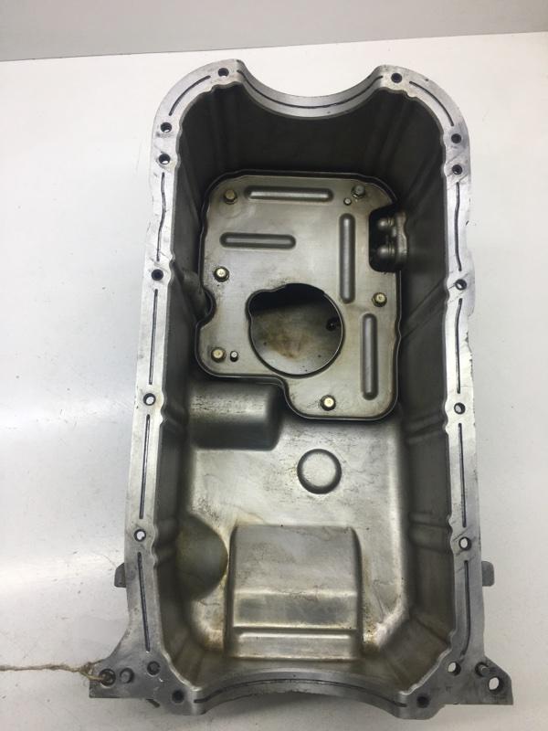 Поддон масляный Mitsubishi Pajero Sport K96W 6G72 2006 (б/у)