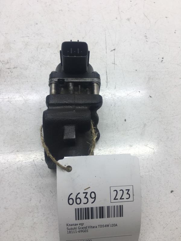 Клапан egr Suzuki Grand Vitara TD54W J20A (б/у)