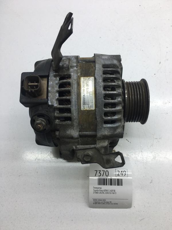 Генератор Toyota Voxy AZR65 1AZFSE (б/у)