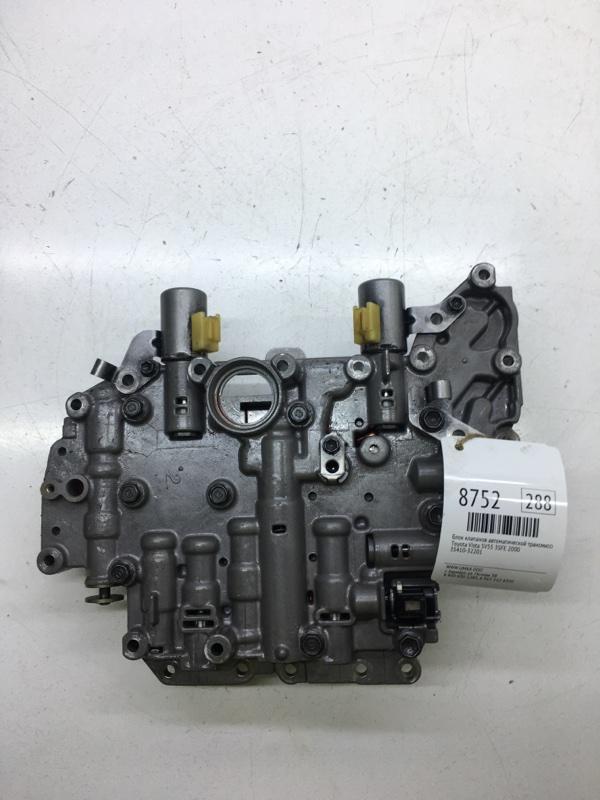 Блок клапанов автоматической трансмиссии Toyota Vista SV55 3SFE 2000 (б/у)