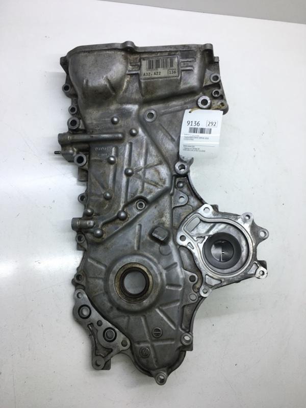 Лобовина двигателя Toyota Rav4 ZSA30 3ZRFAE 2010 (б/у)