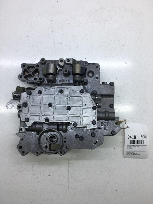 Блок клапанов автоматической трансмиссии Toyota Carina ST215 3SFE (б/у)
