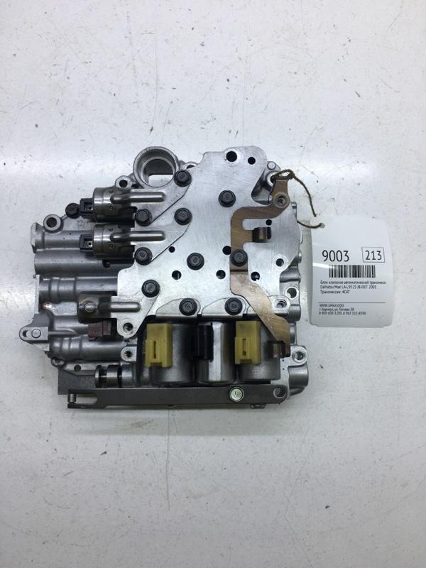 Блок клапанов автоматической трансмиссии Daihatsu Max LA-L952S JB-DET 2001 (б/у)