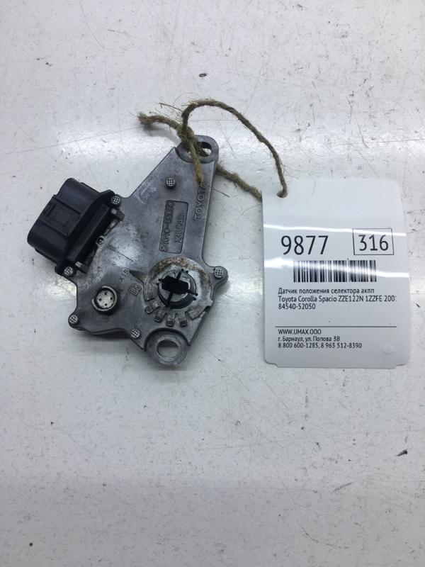 Датчик положения селектора акпп Toyota Corolla Spacio ZZE122N 1ZZFE 2001 (б/у)