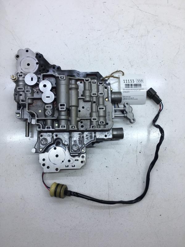 Блок клапанов автоматической трансмиссии Nissan Bluebird EU13 SR18DE 1993 (б/у)