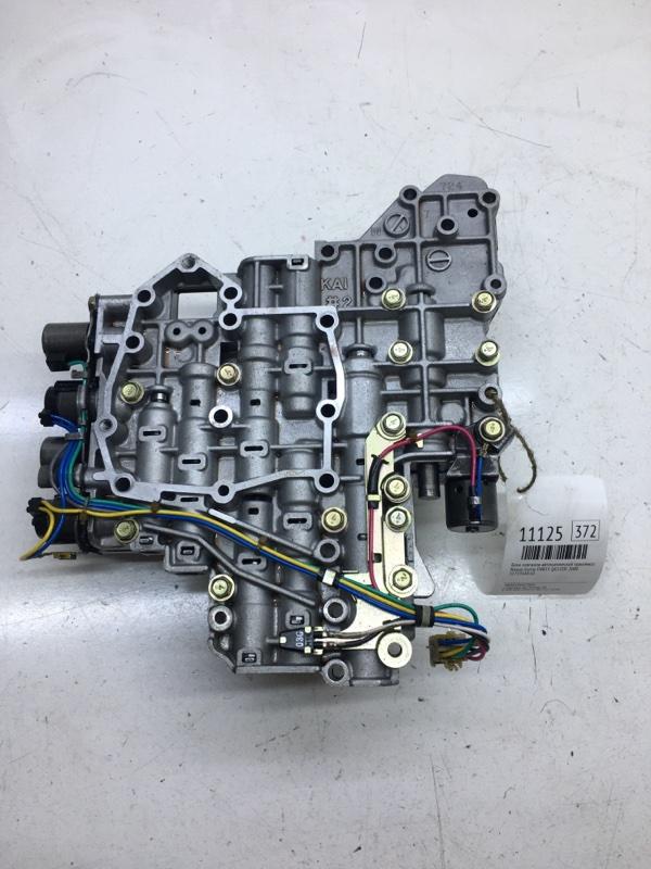 Блок клапанов автоматической трансмиссии Nissan Sunny FNB15 QG15DE 2000 (б/у)