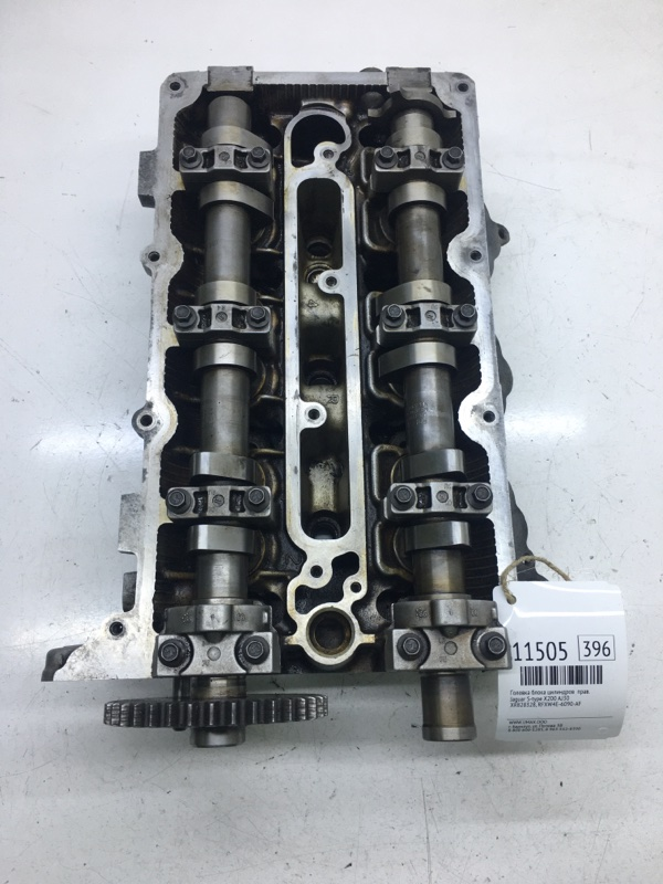 Головка блока цилиндров Jaguar S-Type X200 AJ30 правая (б/у)