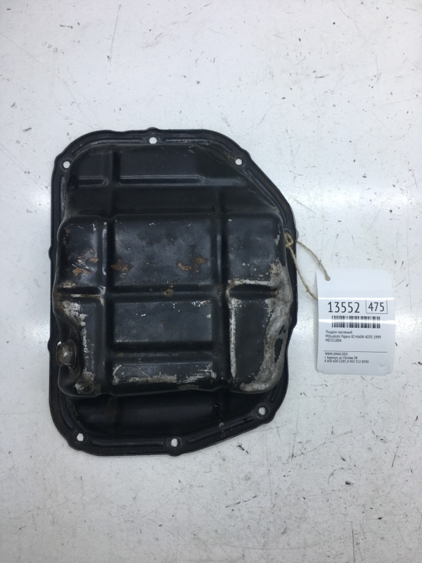 Поддон масляный Mitsubishi Pajero Io H66W 4G93 1999 (б/у)