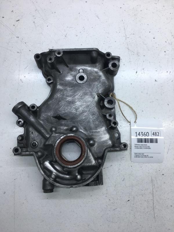 Лобовина двигателя Nissan Cube Z10 CG13DE (б/у)