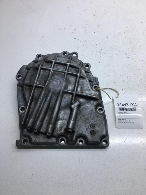 Крышка кпп Toyota Opa ZCT15 1ZZFE задняя (б/у)