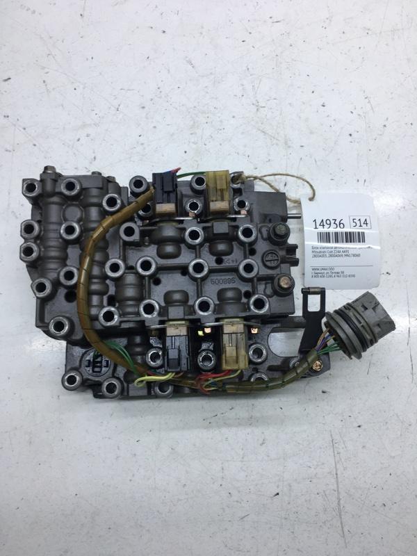 Блок клапанов автоматической трансмиссии Mitsubishi Colt Z24A 4A91 (б/у)