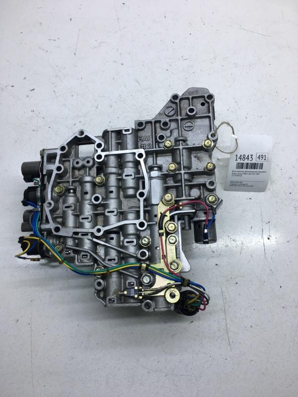Блок клапанов автоматической трансмиссии Nissan Sunny FNB15 QG15DE 2001 (б/у)