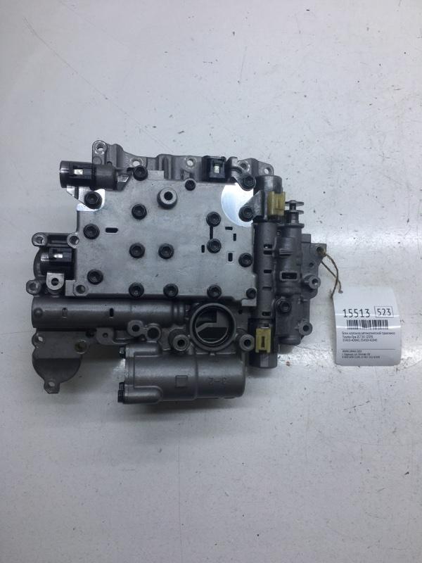 Блок клапанов автоматической трансмиссии Toyota Opa ZCT10 1ZZFE (б/у)