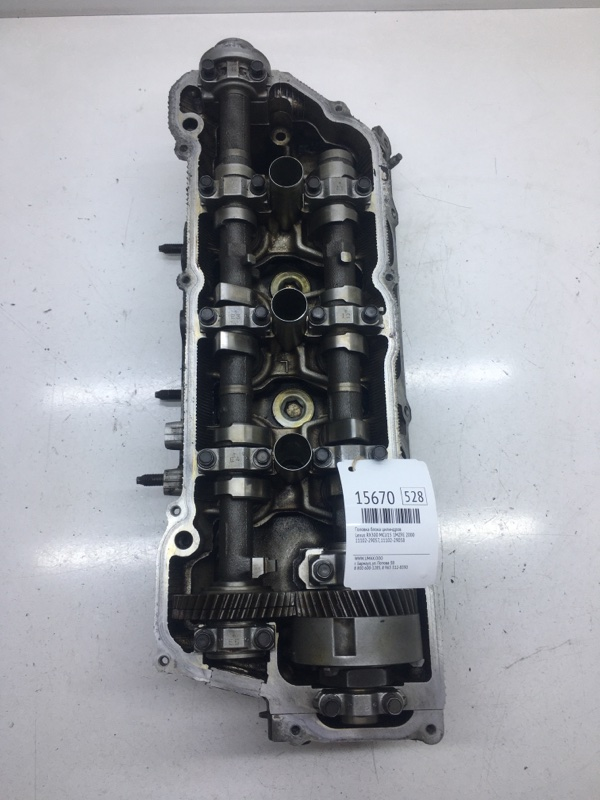 Головка блока цилиндров Lexus Rx300 MCU15 1MZFE 2000 левая (б/у)