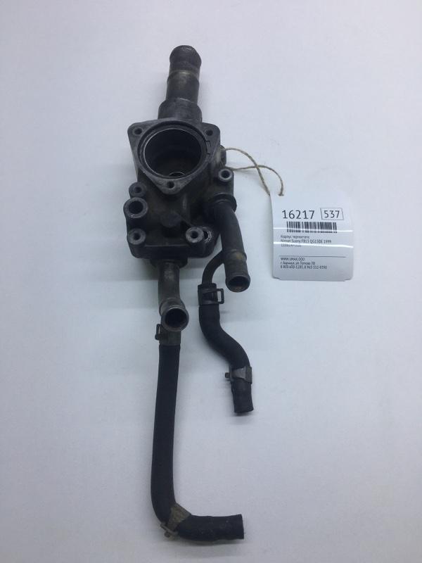 Корпус термостата Nissan Sunny FB15 QG15DE 1999 (б/у)