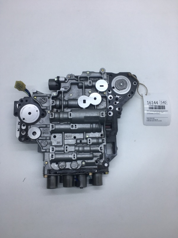Блок клапанов автоматической трансмиссии Nissan Sunny FB15 QG15DE 1999 (б/у)