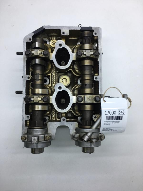 Головка блока цилиндров Subaru Forester SG5 EJ205 2003 правая (б/у)