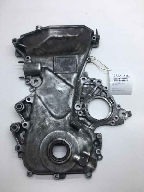 Лобовина двигателя Toyota Premio ZZT240 1ZZFE (б/у)