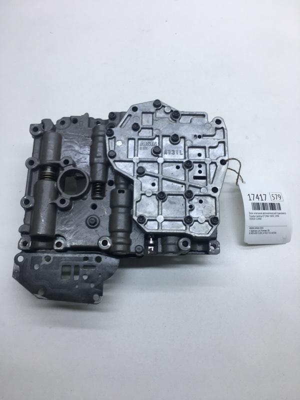 Блок клапанов автоматической трансмиссии Toyota Caldina ET196V 5EFE 1994 (б/у)