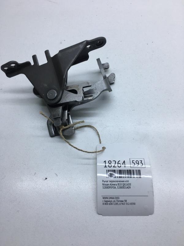 Рычаг переключения кпп Nissan Almera B10 QG16DE (б/у)